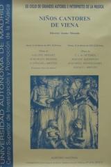 11 y 12 de febrero de 1993. XX Ciclo de Autores e Intérpretes de la Música