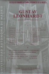 12 de marzo de 1993. XX Ciclo de Autores e Intérpretes de la Música