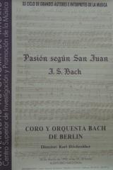 28 de marzo de 1993. XX Ciclo de Autores e Intérpretes de la Música