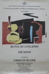 8 de mayo de 1993. XX Ciclo de Autores e Intérpretes de la Música