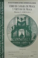 19 de marzo de 1994. XXI Ciclo de Grandes Autores e Intérpretes de la Música