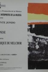 20 de mayo de 1995. XXI Ciclo de Grandes Autores e Intérpretes de la Música