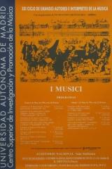 6 y 7 de mayo de 1994. XXI Ciclo de Grandes Autores e Intérpretes de la Música