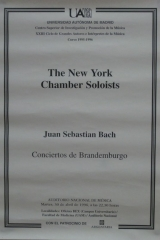 30 de abril de 1996. XXIII Ciclo de Grandes Autores e Intérpretes de la Música
