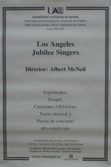 7 de marzo de 1996. XXIII Ciclo de Grandes Autores e Intérpretes de la Música