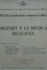 18 de marzo de 1999. XXVI Ciclo de Grandes Autores e Intérpretes de la Música