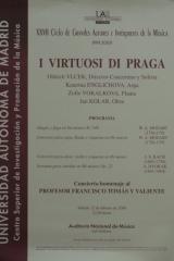 12 de febrero de 2000. XXVII Ciclo de Grandes Autores e Intérpretes de la Música