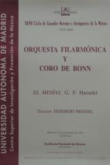22 de diciembre de 1999. XXVII Ciclo de Grandes Autores e Intérpretes de la Música