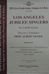 31 de marzo de 2000.  XXVII Ciclo de Grandes Autores e Intérpretes de la Música